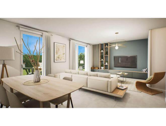 Appartement à taux réduit